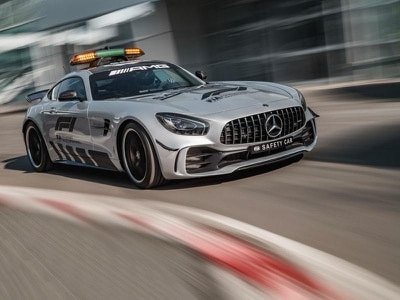 New Mercedes-AMG GT R F1 pace car is the most powerful safety vehicle of all time
