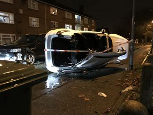 The crash happened in Willenhall. Picture by Martyn John Wulfran