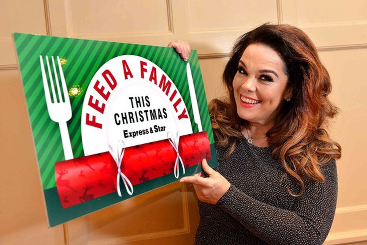 Wolves Grand panto star Lisa Riley launched the appeal in November