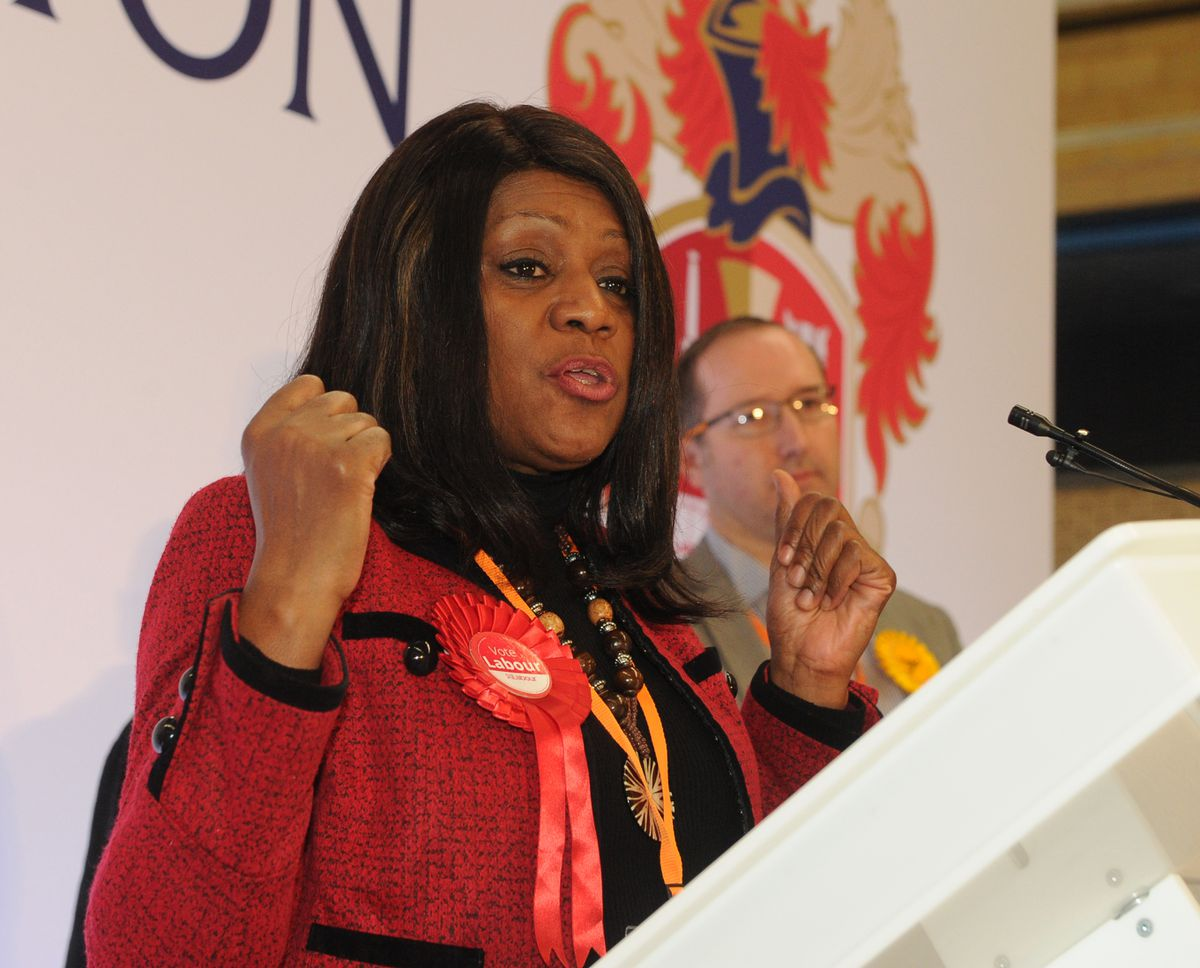 Eleanor Smith speaks after losing out in Wolverhampton South West
