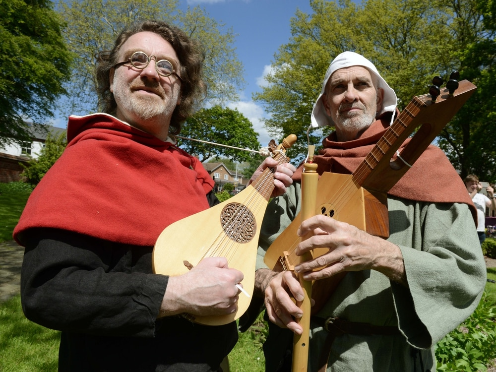 Festivities and ancient folklore at West Bromwich Green Man Festival