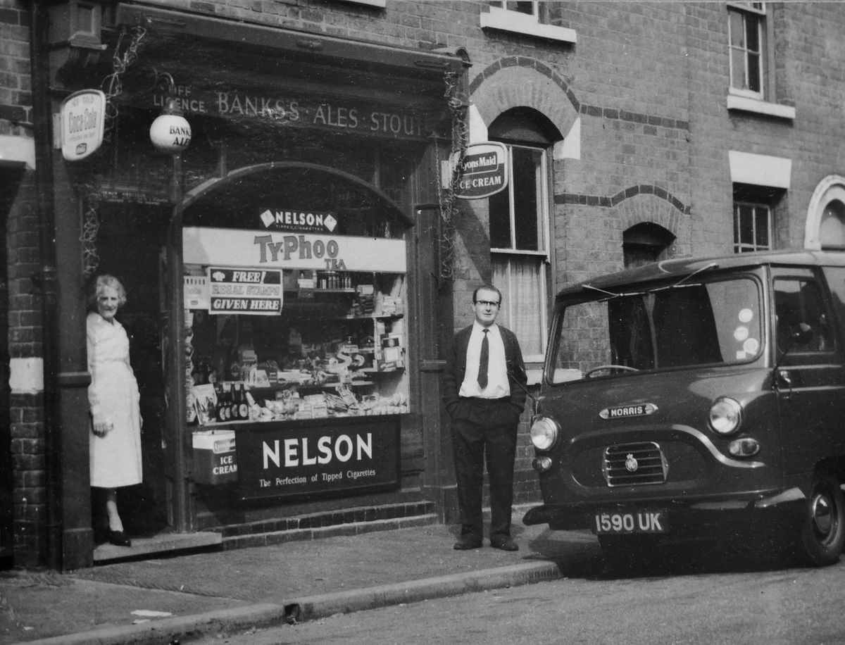 Vernon Hedgecox when he first started the shop in 1960
