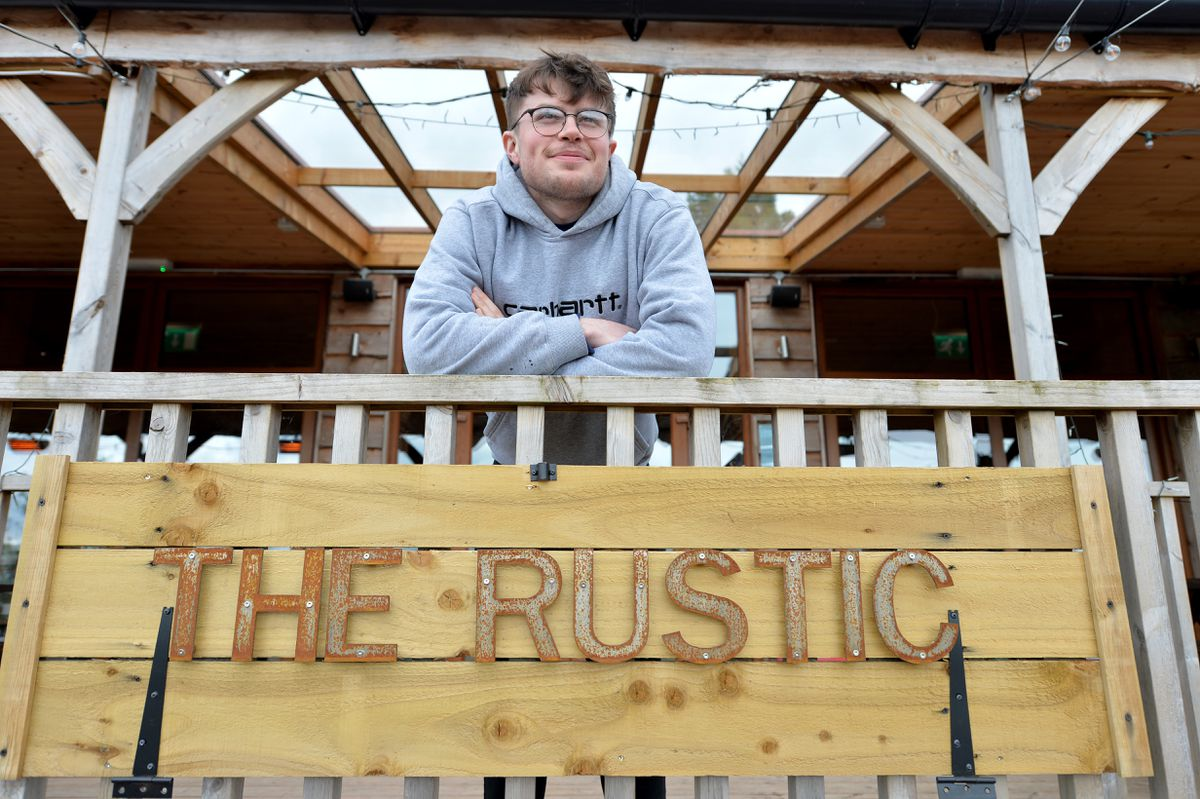 Leo Hopley said the Rustic had had a lot of bookings and was excited for the weeks ahead