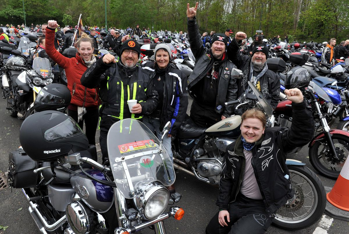 Hundreds turned out to support the charity event