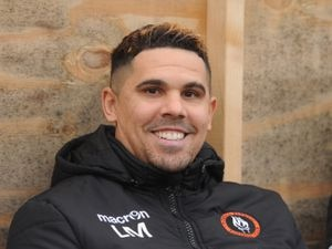 Rushall Olympic manager Liam McDonald