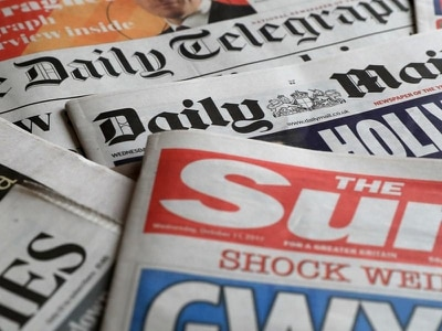 'Seismic day for British politics': How the papers sum up Labour split