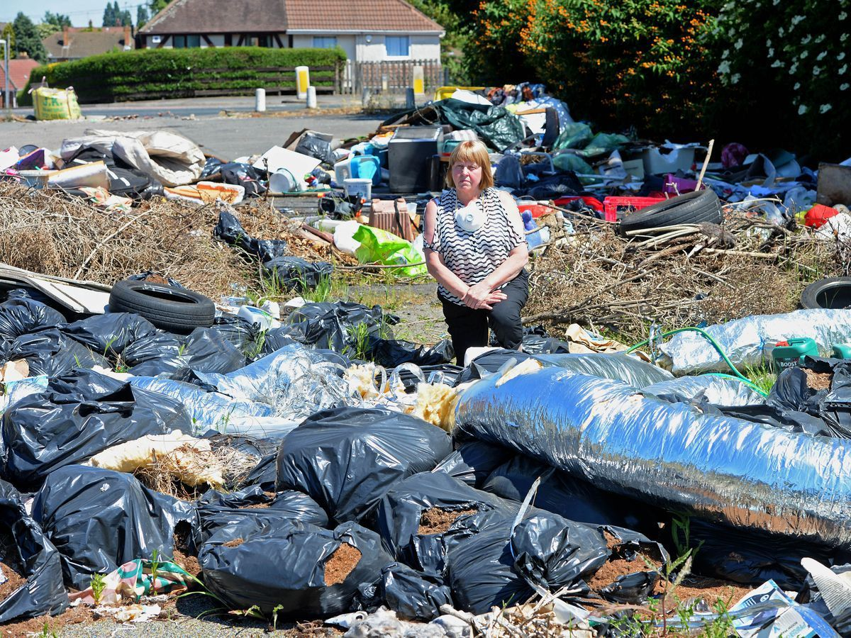 Councillor Chris Bott has previously spoken out about the mess left and how it has affected residents