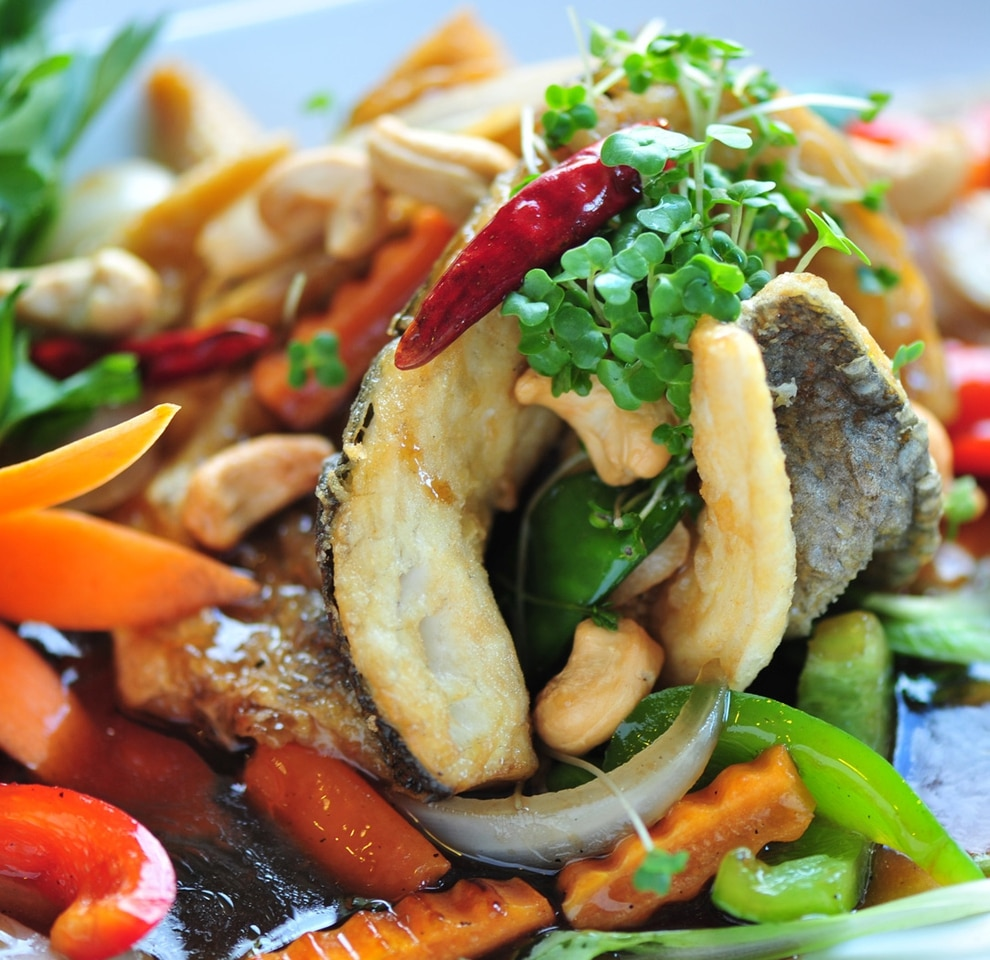 Food review thai banana leaf kingswinford express star for 7 star thai cuisine