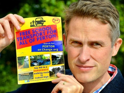 Gavin Williamson backs parents in Codsall High School transport row