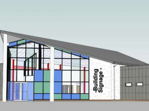 Artist's impression of the new medical centre King Street, Wednesbury. Photo: Sandwell Council