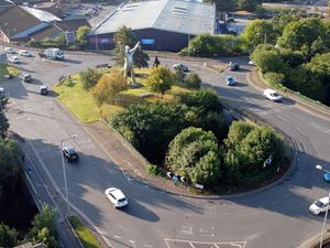 The 'Jigger' roundabout which has been named best in the UK