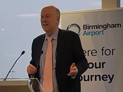 Britain won't beat Brexit deal, says Grayling at Birmingham Airport