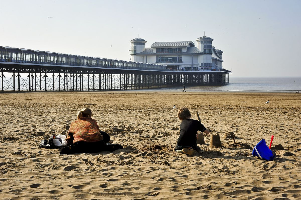 ... but is unimpressed by Weston-super-Mare