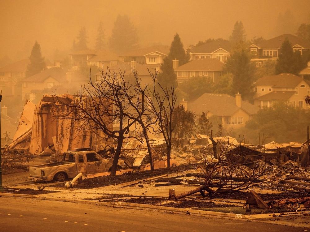 New California fire scorches wine country near San Francisco