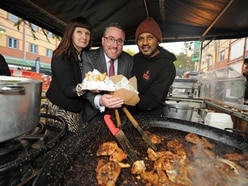 Hundreds of foodies flock to street food market at Merry Hill's The Waterfront