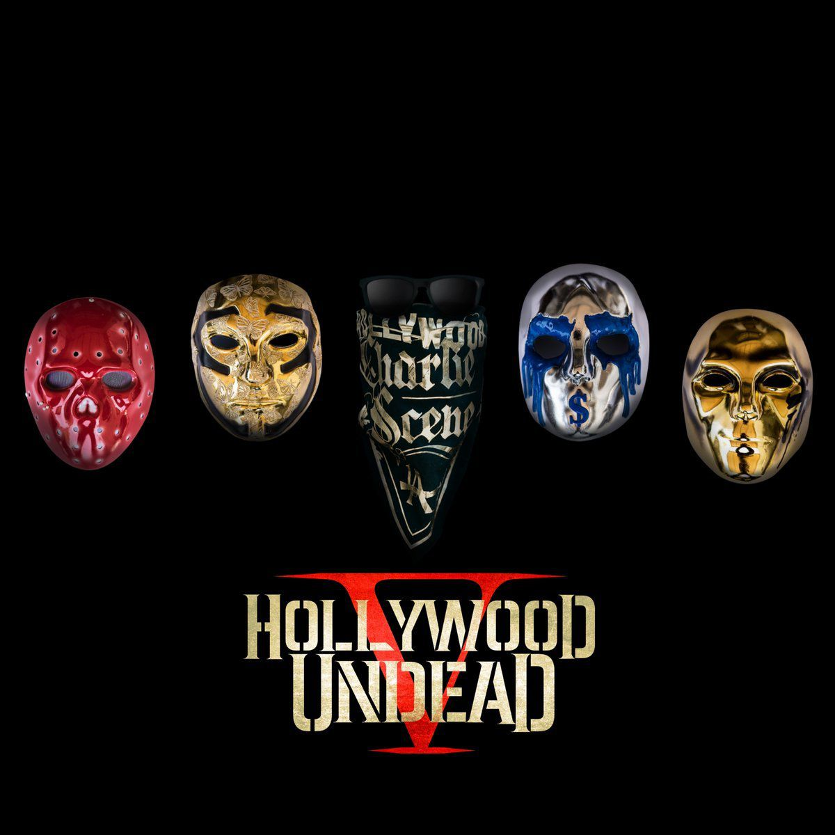Five lads called Hollywood Undead release record number five, called Five
