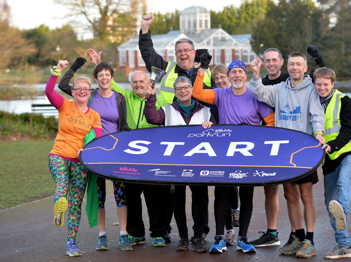 The weekly 5k parkrun in West Park which celebrated its seventh birthday in February last year – before Covid-19 restrictions