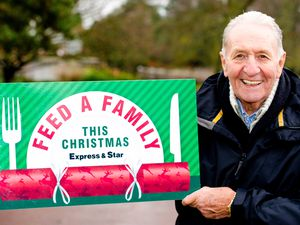 Cycling champion Hugh Porter is supporting the Express & Star's Feed A Family This Christmas