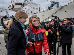 UK sailor Susie Goodall back on dry land after ocean ordeal