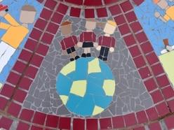 Mosaic created to mark school's 50th anniversary