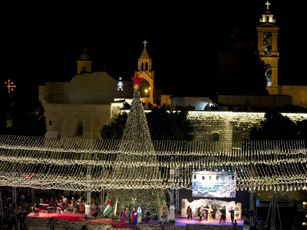 Palestinians-Bethlehem-Christmas