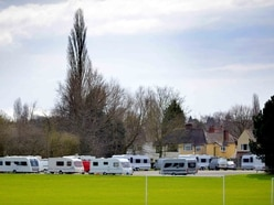 Travellers move onto Windsor Avenue playing fields again