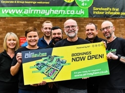 Inflatable theme park Air Mayhem to open in Tipton