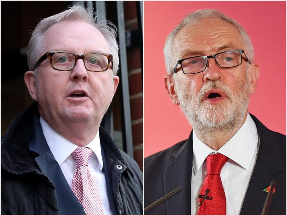 Ian Austin and Jeremy Corbyn