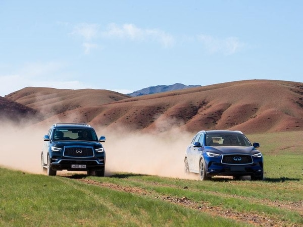 To Infiniti and beyond: Fossil hunting in the Gobi desert