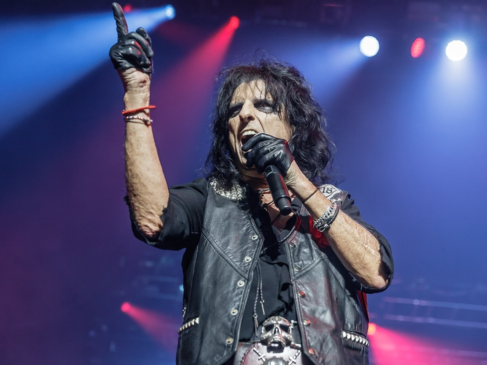 Guillotines, straight jackets and demonic babies: Alice Cooper, Birmingham - review