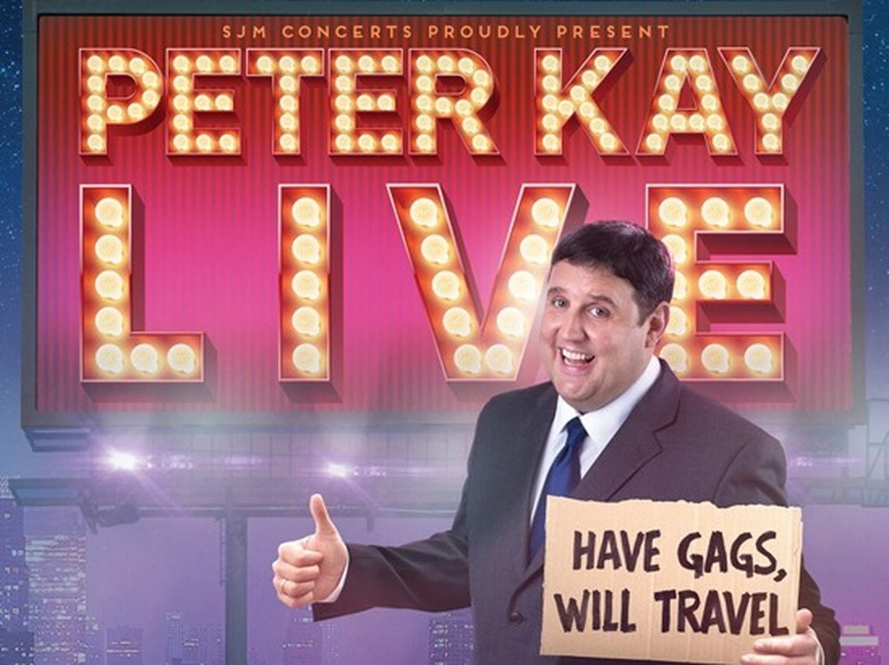 Peter Kay cancels his tour due to