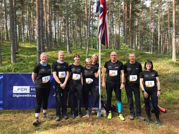 Nordic walkers putting their best foot forward