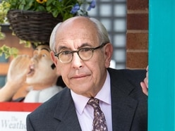 Malcolm 'Norris Cole' Hebden takes a break from Corrie