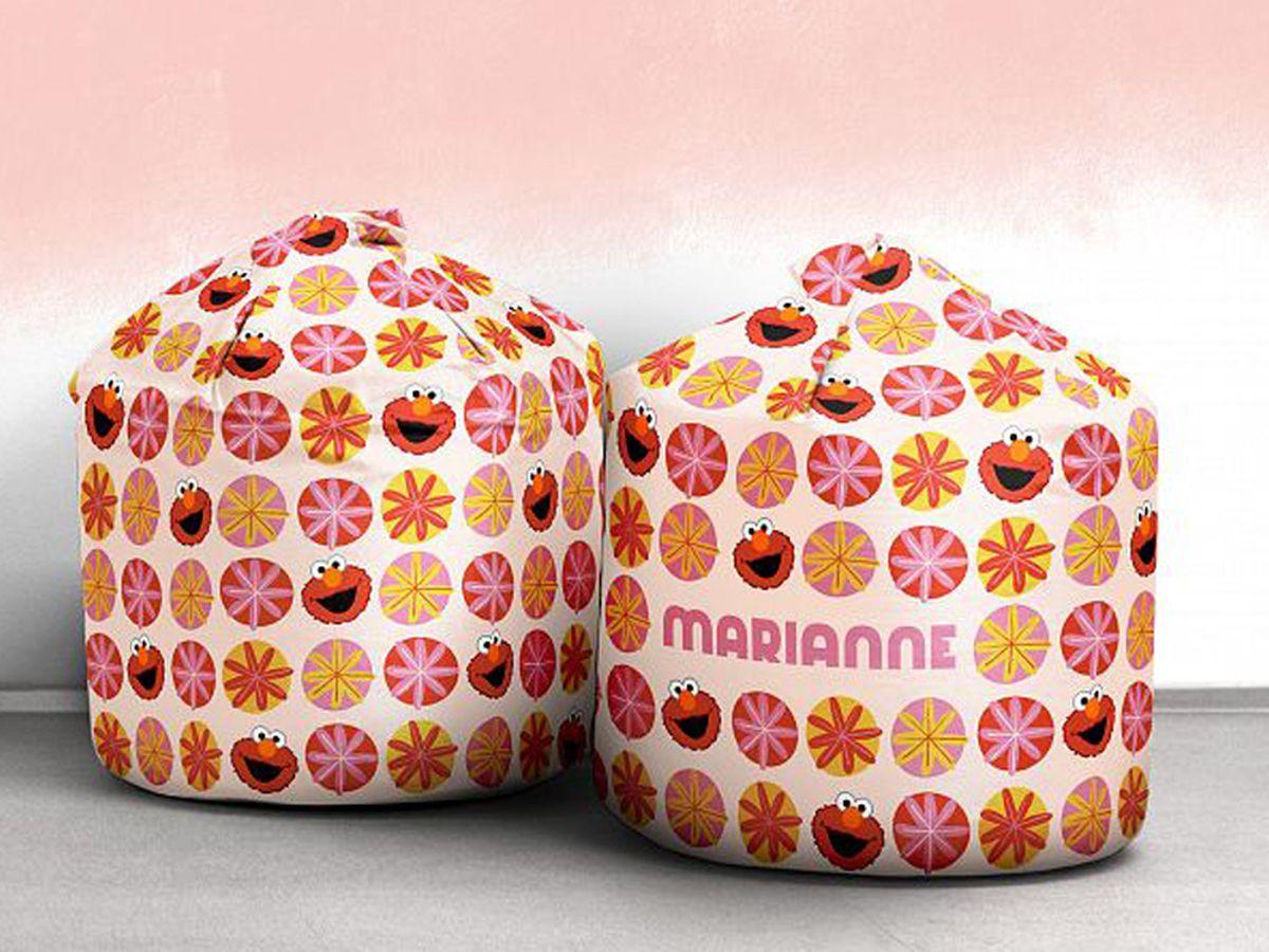 Elmo Personalised Bean Bag