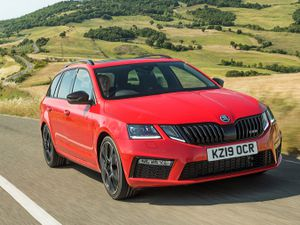 Octavia vRS manages to combine impressive performance with family car practicality and comfort