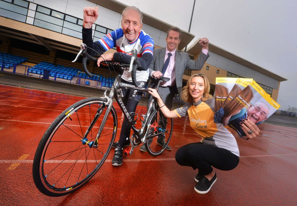 Hugh Porter will be celebrating his 80th birthday by doing 80 laps of the track - and also raise money for charity
