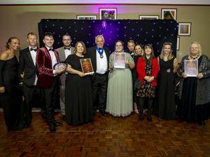 Award winners on the night