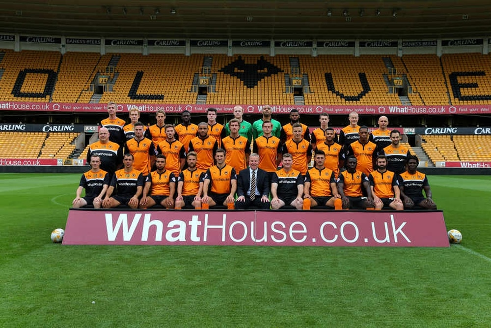 Photo Call At Wolves For New Team Picture Express Amp Star