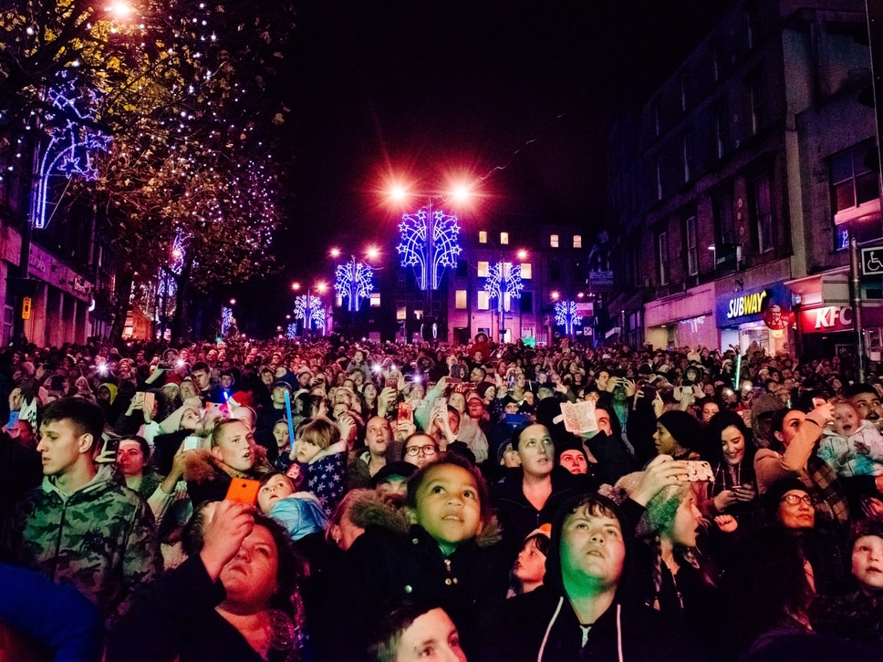 Wolverhampton Christmas lights switch-on: Thousands pour into the city to enjoy the festivities