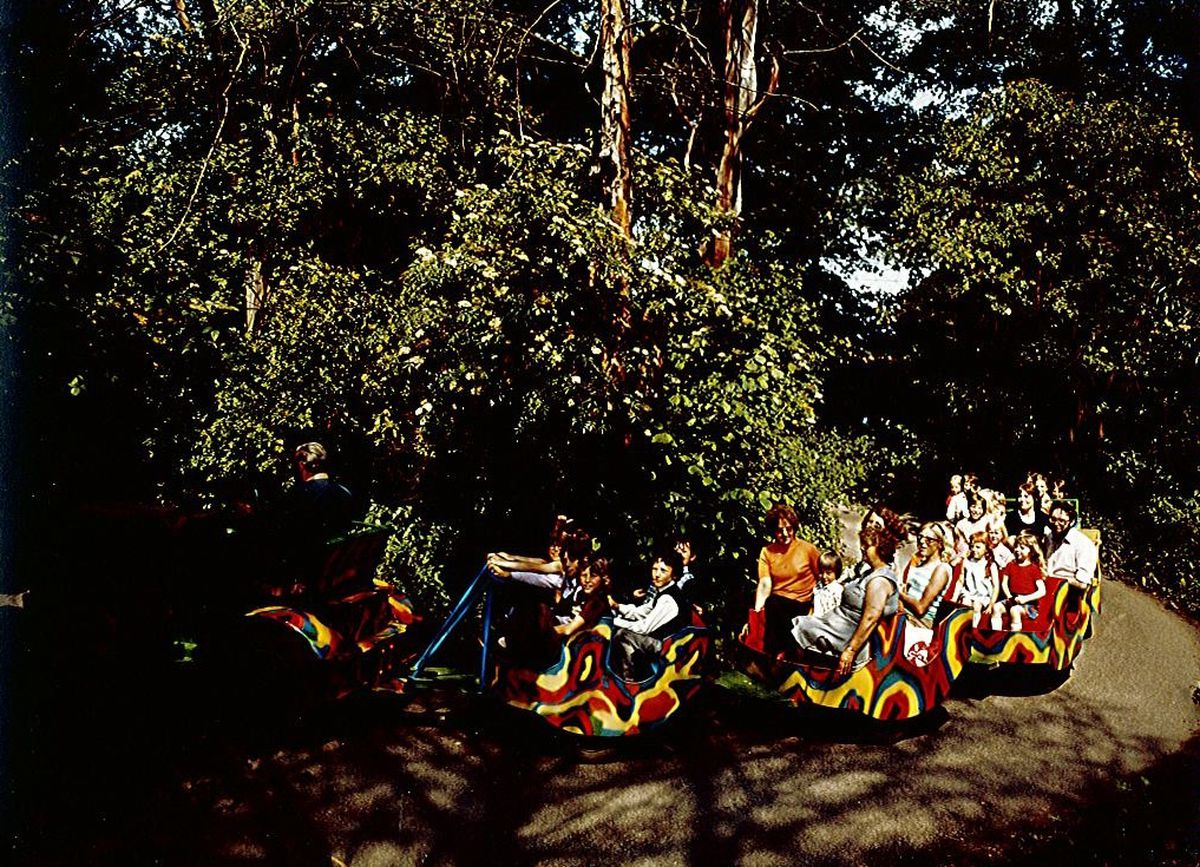 The Snake Train at Drayton Manor in 1976