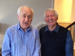 The heart-warming reunion of two leading performers