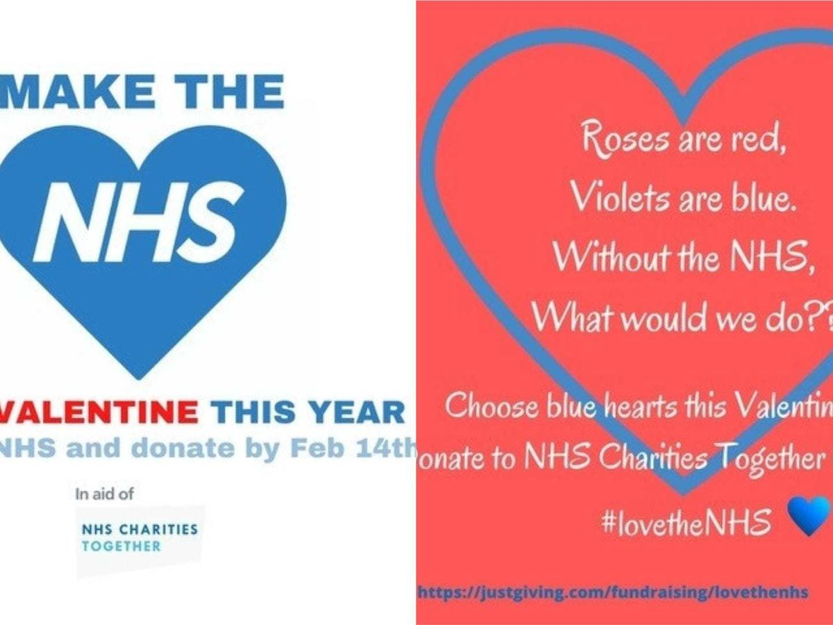 Valentines For The NHS