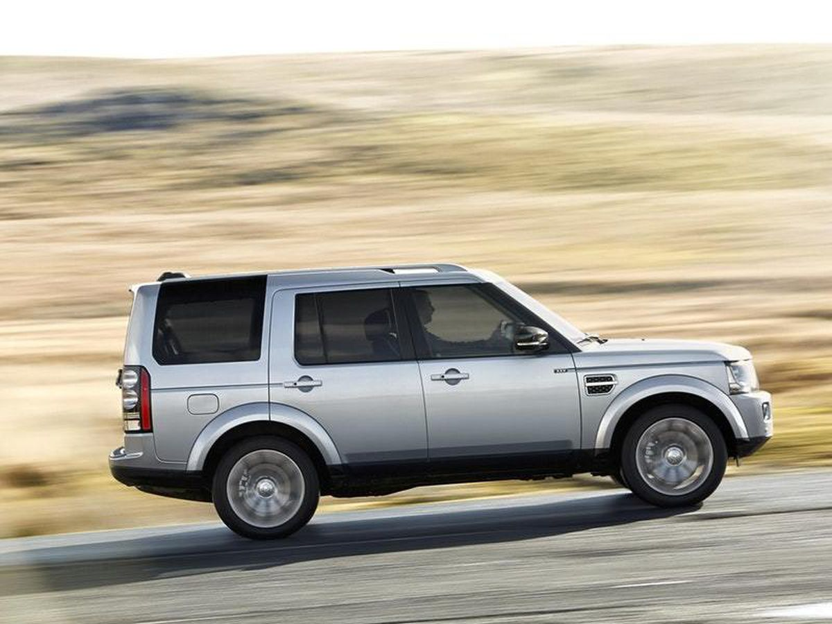 The Discovery is jam-packed with off-road tech