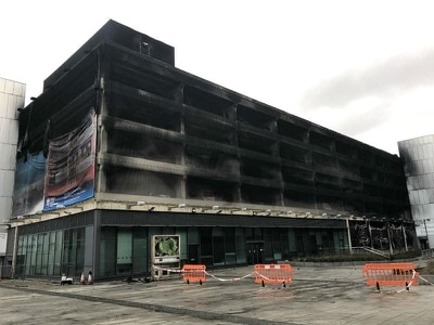 Liverpool plans demolition of fire-ravaged car park