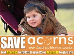 Huge boost for Acorns children's hospice as immediate threat of closure lifted