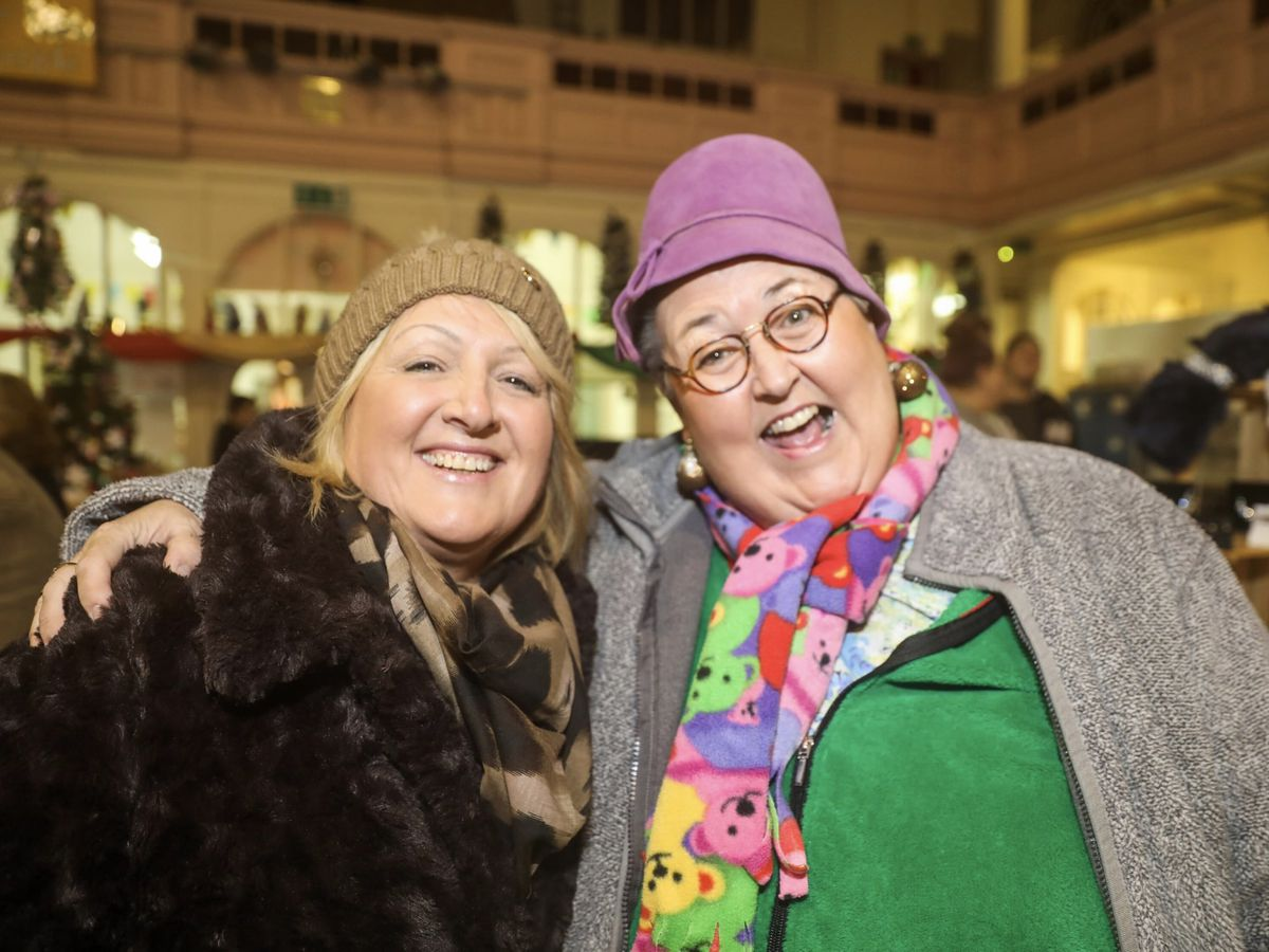 Bilston Christmas lights switch-on. Pictures by: John Kennett