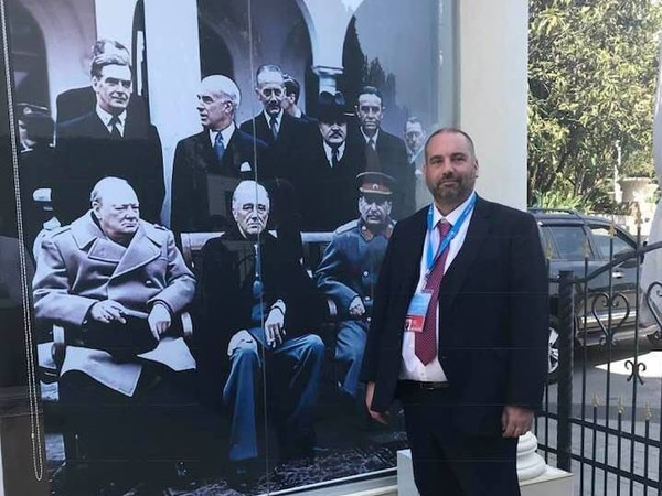 Ukraine brands Bill 'a disgrace' over Yalta visit