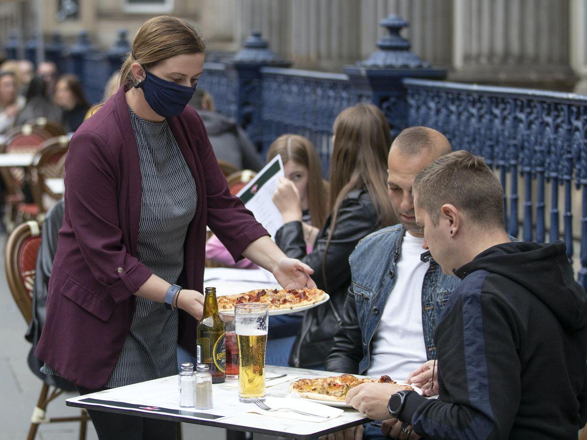 On-street eatery