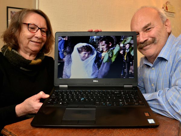 Margaret and Gary Cullum are trying to reunite the wedding video with its owners