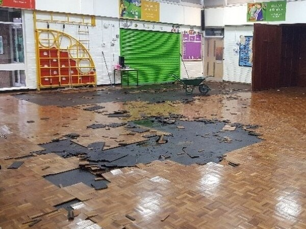 Some pupils still not back at school two weeks after flood